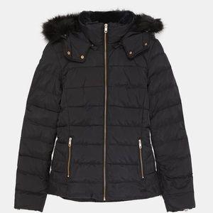 💥Zara Puffer Jacket black, new!!